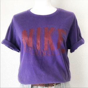 NIKE Vintage Since 72 Purple Short Sleeves Tee M